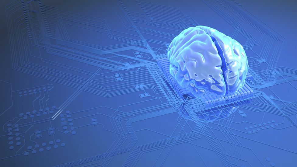 Concept of brain on computer chip (Thinkstock)