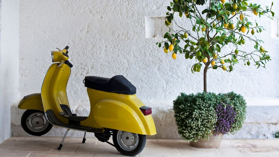 Though manufacturer Piaggio has released many different variants over the years, the Vespa, first introduced in 1946, remains as popular as ever. (Corbis)