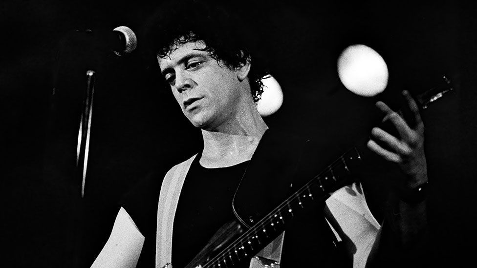 Reed's songs, such as Heroin, showed an empathy with outsiders, misfits and underdogs. (Michael Grecco/SuperStock/Alamy)