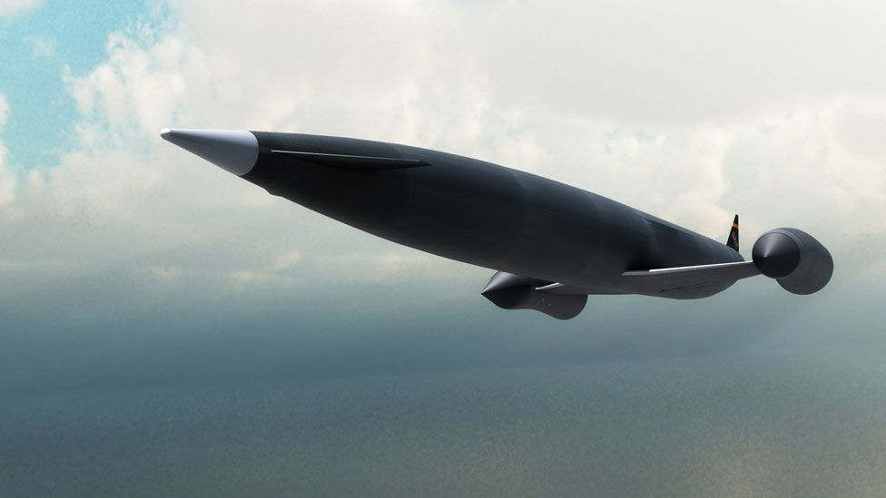 Massive construction costs could be reduced with the new generation of much cheaper rocket launchers and spaceplanes, like the UK-built Skylon. (Skylon)