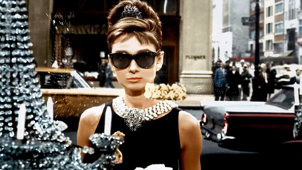 Hubert Givenchy's dress worn by Audrey Hepburn in Breakfast at Tiffany's is perhaps the most famous LBD of all time. (Rex Features)