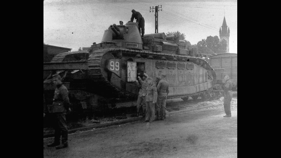 The 1930s-era Char 2C built by France remains the biggest and heaviest tank to see service, though it was little more than a propaganda tool. (Phrontis/Wikimedia Commons)