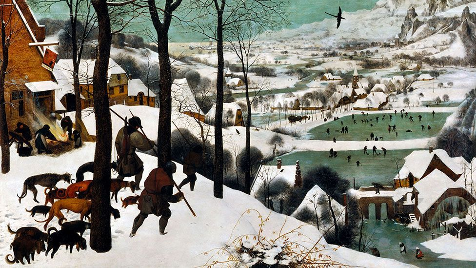 How Great Artists Depict Winter In 10 Sublime Paintings Bbc Culture