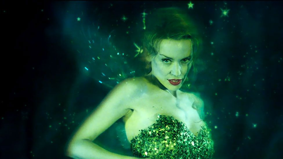 Australian pop star Kylie Minogue played absinthe's personification, the Green Fairy, in Baz Luhrmann's Moulin Rouge, set at the turn of the 20th Century. (20th Century Fox)