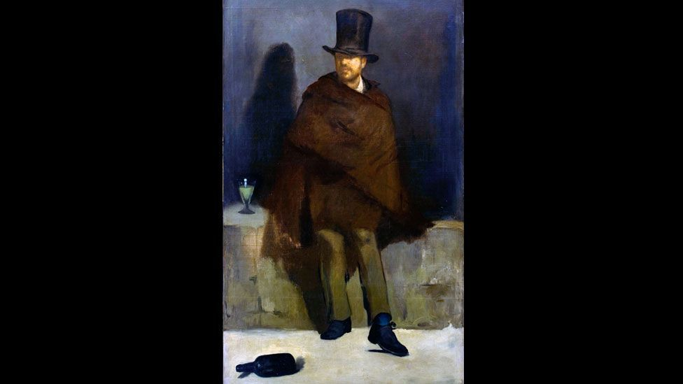 Édouard Manet's The Absinthe Drinker (1859) marked the beginning of the absinthe age. It was rejected from the Paris Salon, with only Delacroix voting in favour of it. (Alamy)