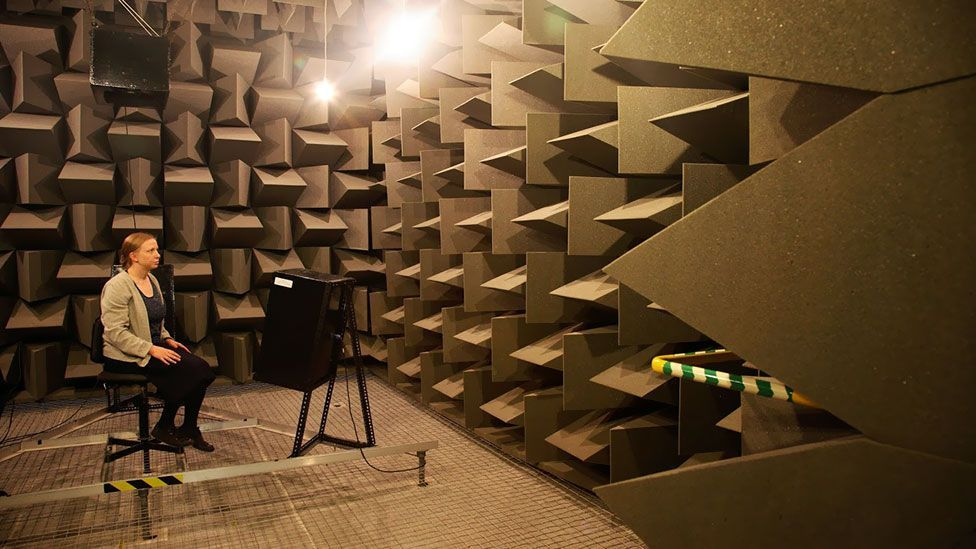 In anechoic chambers, the only thing you can hear is the unsettling sound of your own body. (University of Salford)