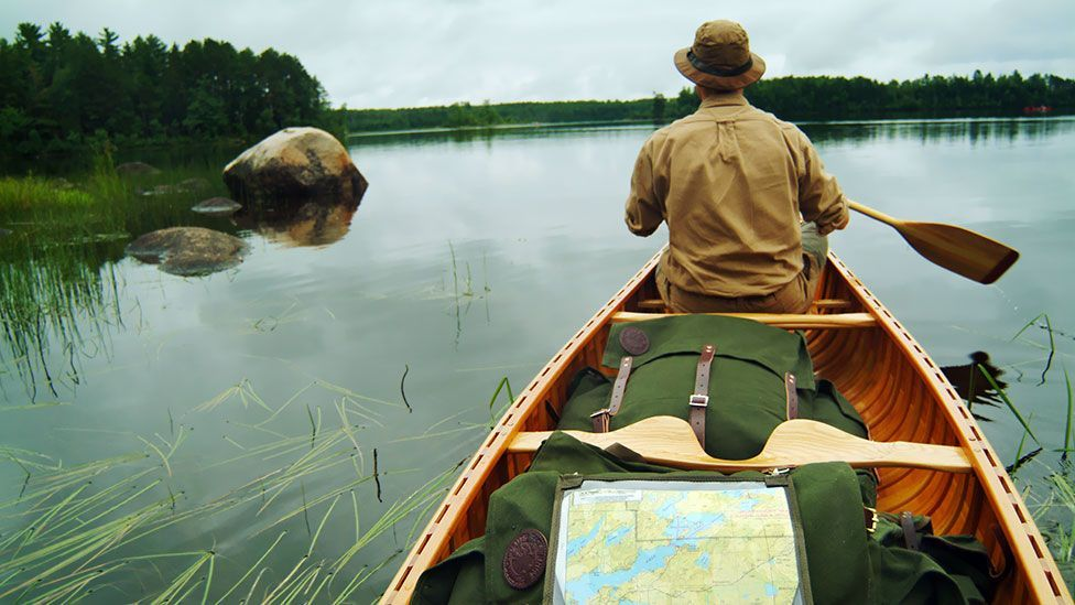 You can be sure of silence in the Boundary Waters Canoe Area in Minnesota… for 15 minutes, at least. (PVstock.com / Alamy)