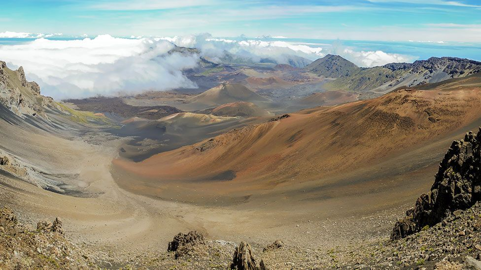The Haleakala National Park in Hawaii has at least 3,000 square kilometres of quiet to seek out. (Thinkstock)