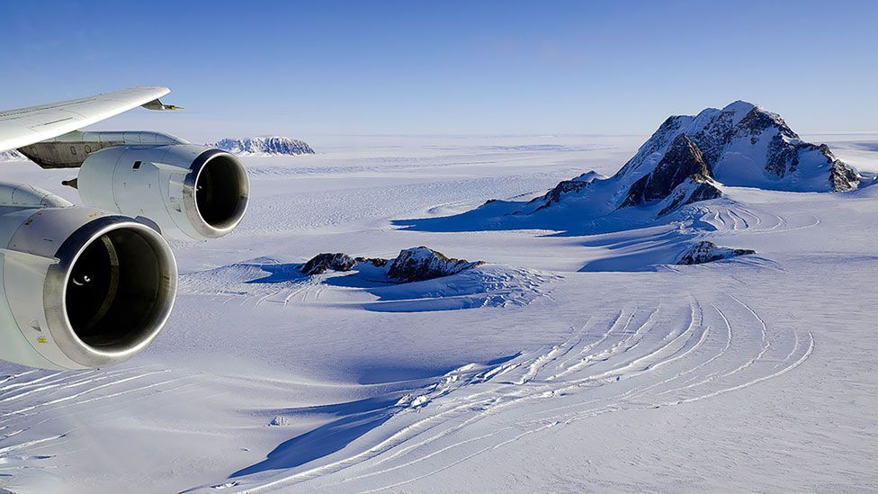 Antarctica may have quiet spots, but planes and other human activity make a racket in the summer. (NG Images / Alamy)