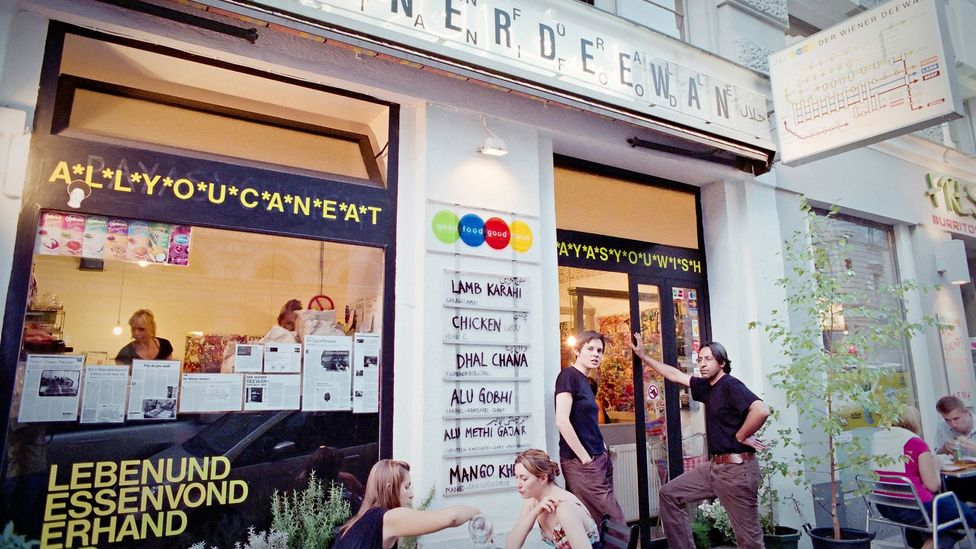 Average payments of 5 to 6 euro ($6.84 to $8.21) help Der Wiener Deewan in Vienna bring in a profit. (Courtesy: Andreas Zeitler)
