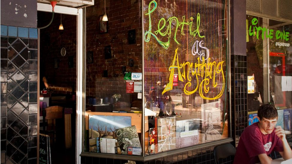 Lentil As Anything, with four restaurants in Australia, operates mostly with volunteers. (Rebecca Skiller/LPI/Getty Images)