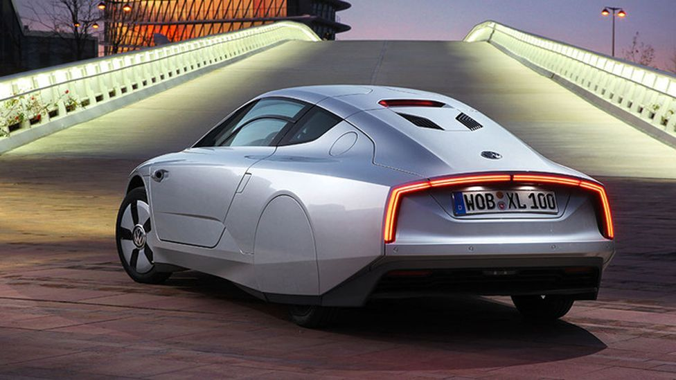"""Volkswagen is testing a system in its new XL1 concept car that allows mechanics to look """"into the engine"""". (AFP/Getty Images)"""