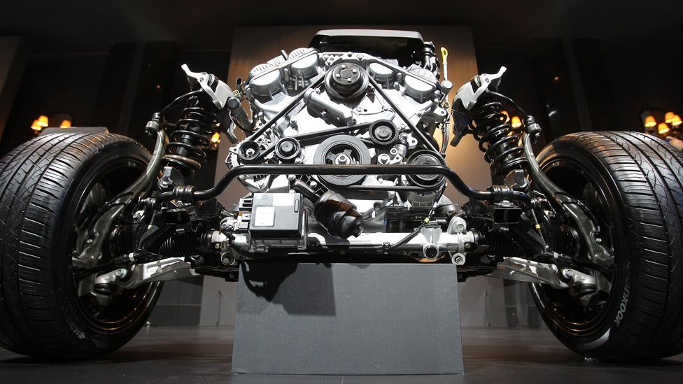 Modern engines – like this from Hyundai's new luxury sedan – increasingly rely on sophisticated sensors and computing power that tech can tap into. (Getty Images)
