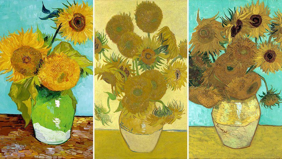 (Sunflowers, 1888 – Vincent Van Gogh)