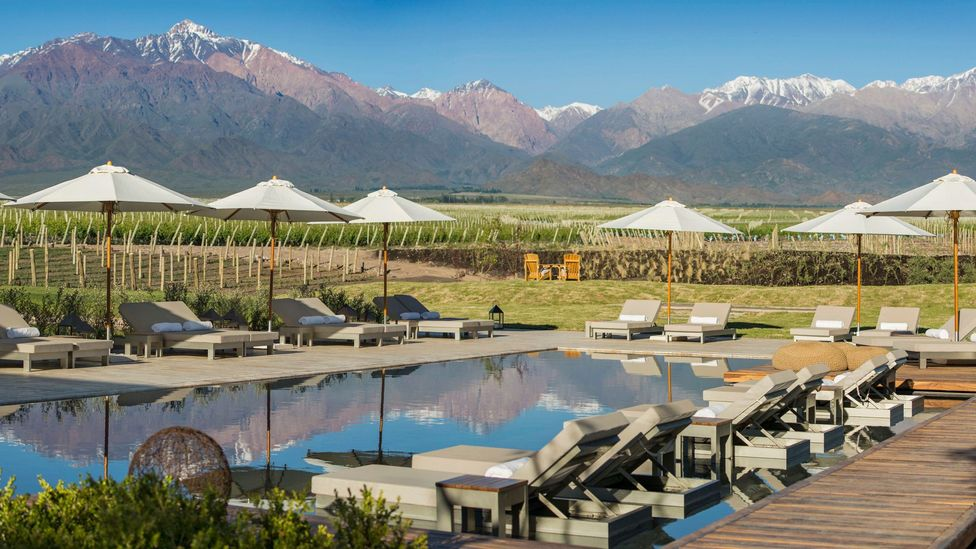 A new 22-villa resort and spa looking out at the Andes Mountains could add income. (Fede Garcia)