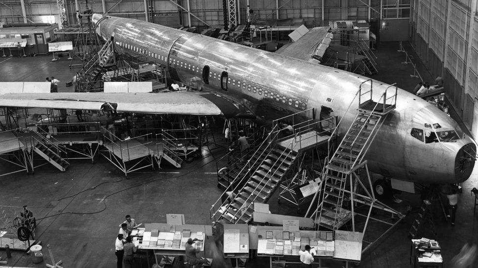 The Comet could not compete with the runaway success of Boeing's 707, released just a few weeks later. It truly ushered in the age of jet travel. (Getty Images)