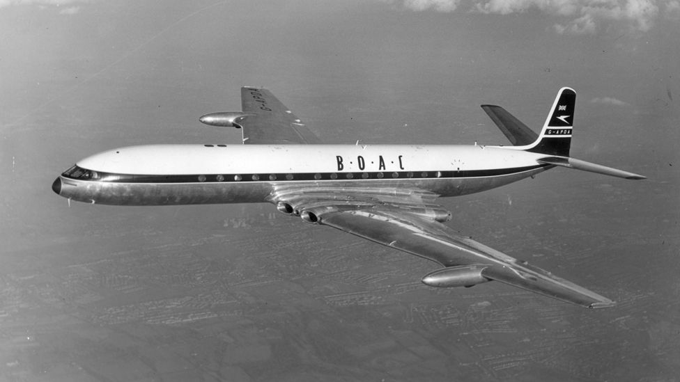 Britain's de Havilland Comet was the first jet airliner – but its record-breaking career was cut tragically short by accidents which ruined its reputation. (Getty Images)