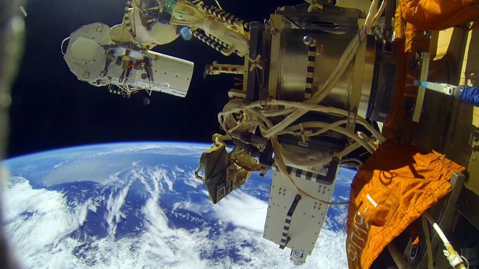 Ball Aerospace now has competition; Urthecast built new cameras recently fitted to the International Space Station (Nasa)