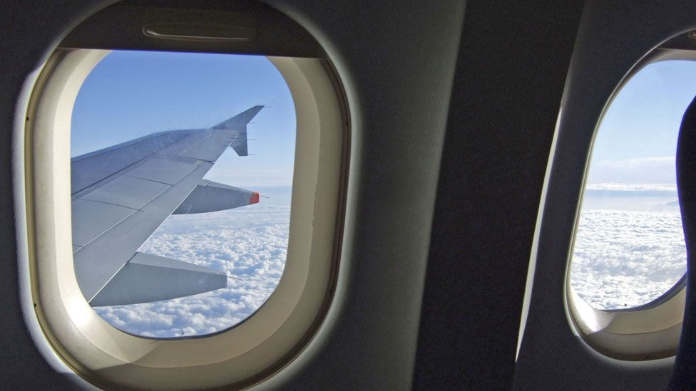 Seats behind the engine towards the plane's rear tend to be noisier (BBC)