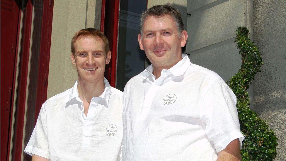 Barber and Friend left corporate jobs in London to open the bed and breakfast. (La Villa de Mazamet)