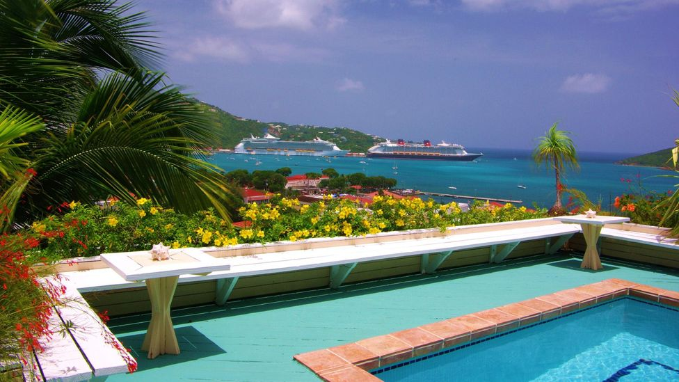 Bellavista in St Thomas was purchased after a hurricane at a fraction of normal prices. (Don Herbert)