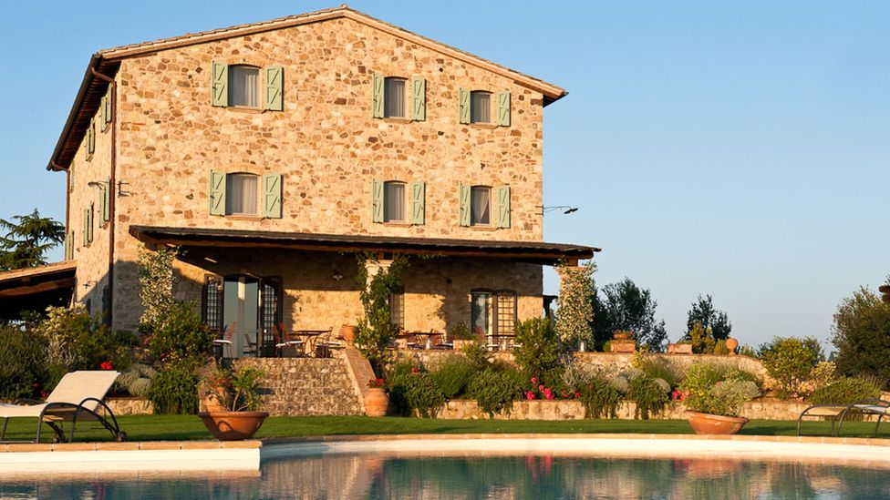 The guesthouse is their dream, but the Zocchis work nonstop eight months of the year. (La Palazzetta del Vescovo)