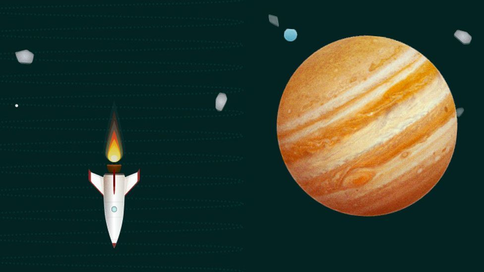 How big is space? Interactive infographic