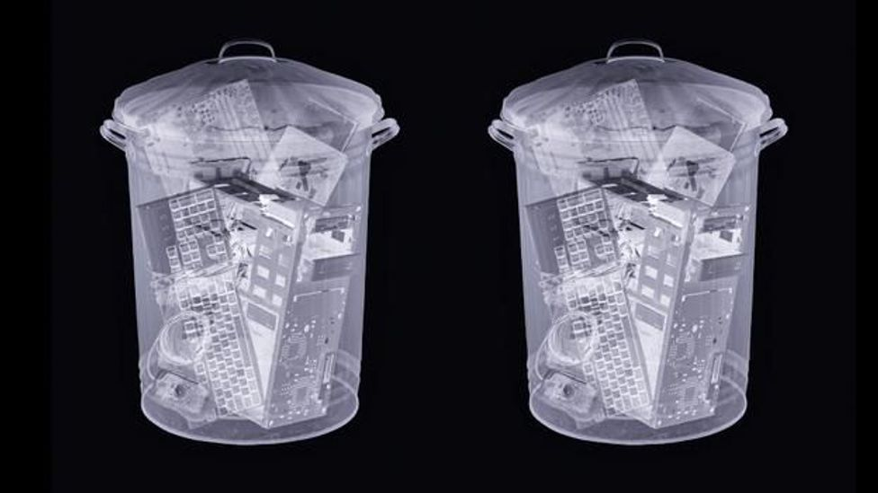The majority of used electronics in the US is chucked in the bin instead of recycled (Science Photo Library)