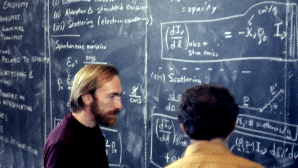 The work of physicist Kip Thorne (left) on wormholes has inspired an upcoming Hollywood movie called Interstellar (Wikimedia Commons)