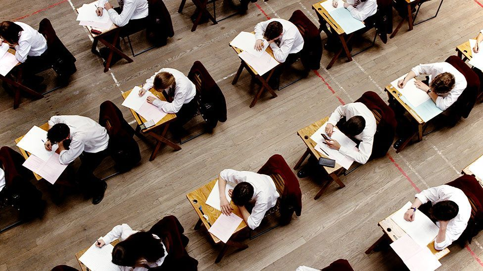 Staging exams at strict times of the year benefits some students, but others suffer as a result (Getty Images)