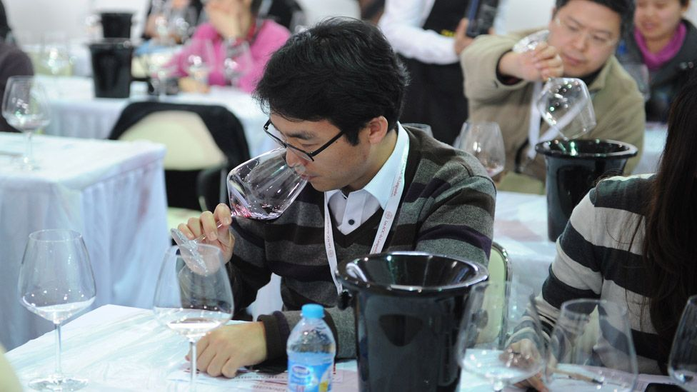 China is expected to become the world's sixth-largest wine consumer by 2014. (Peter Parks/AFP/Getty Images)