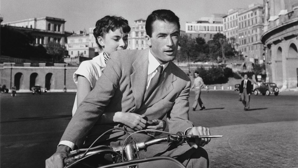 In the 1953 film Roman Holiday, an elegant Audrey Hepburn and Gregory Peck brought a taste of the Italian way of life to the world. (Paramount, the Kobal Collection)