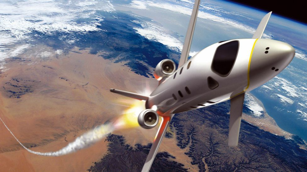 Private space travel companies using reusable spaceplanes could help boost  space exploration (AFP/Getty Images)