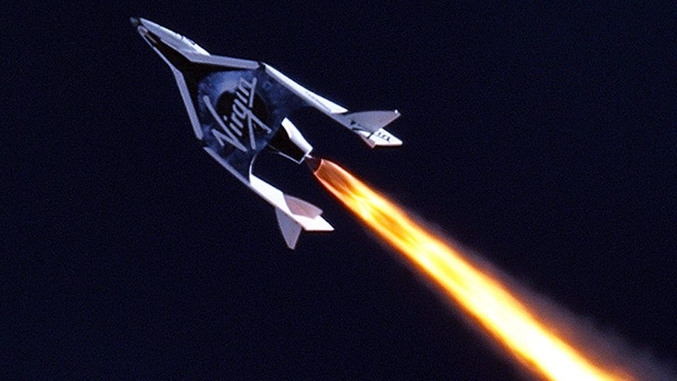 Virgin Galactic's SpaceShipTwo could undertake missions for as little as $250,000 a time (Nasa)