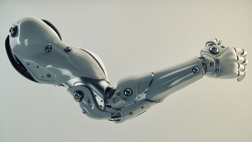 Could wearing robot prosthetics influence our future evolution? (Thinkstock)