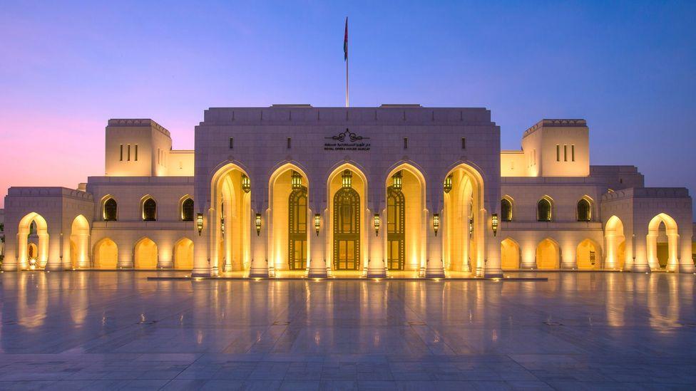 Oman, opera house