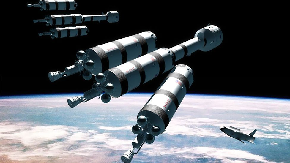 Nasa's Nerva project also investigated the use of nuclear engines in space (Adrian Mann)