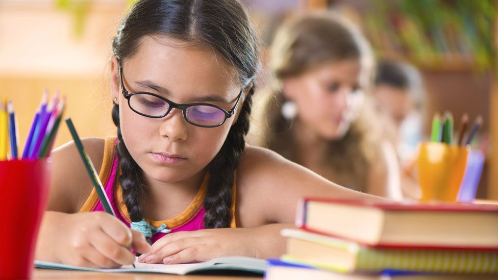 For years, people gave children weaker glasses than they really needed, but evidence suggests this is the wrong thing to do (Thinkstock)