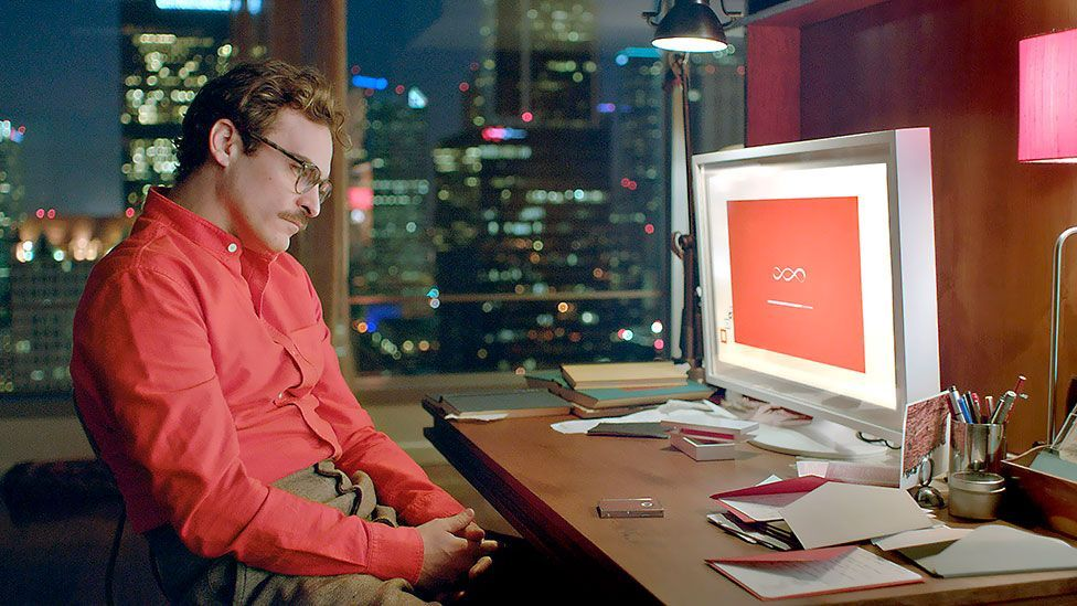 In the movie Her, the main character has his emails handled by Samantha, a virtual assistant (Warner Bros.)