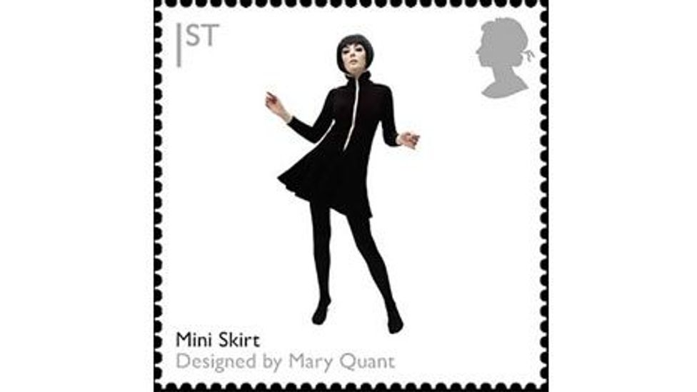 Mary Quant stamp (Royal Mail)
