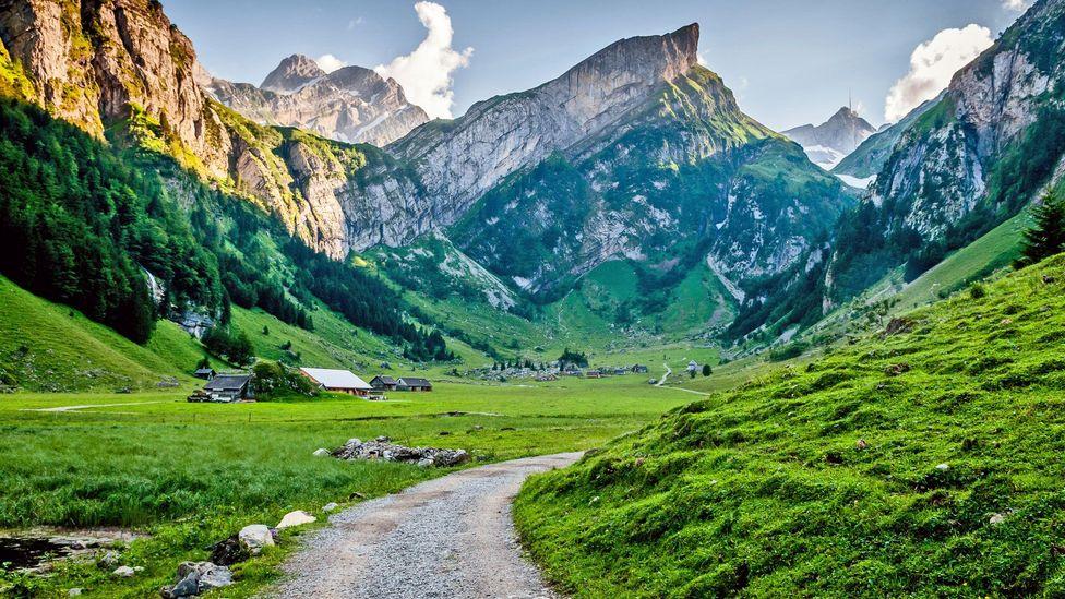 Säntis, the highest mountain in Appenzell. (Roman Sandoz/Getty)