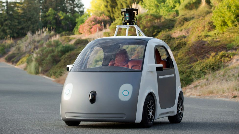 Google's new self-driving car is not the only vehicle that could be driving itself on future roads (Google)
