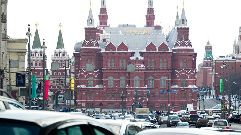 Big cities such as Moscow are trying to find ways to deal with the fact that almost one-third of traffic stuck in jams are trying to find a parking space (AFP/Getty Images)