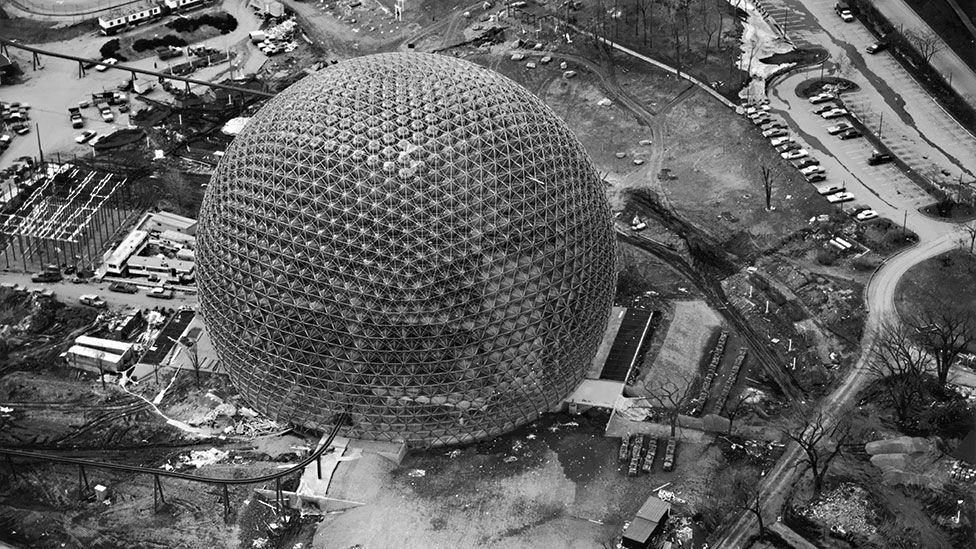 The United States pavilion at the Montreal Expo (Keystone/Getty Images)