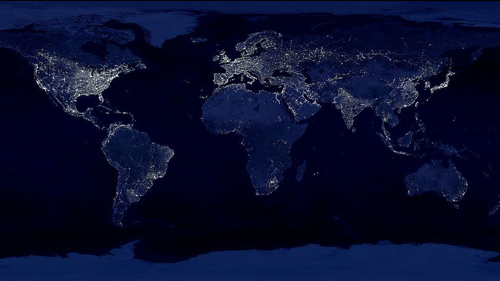 Humans have become the dominant force shaping our planet (Nasa)