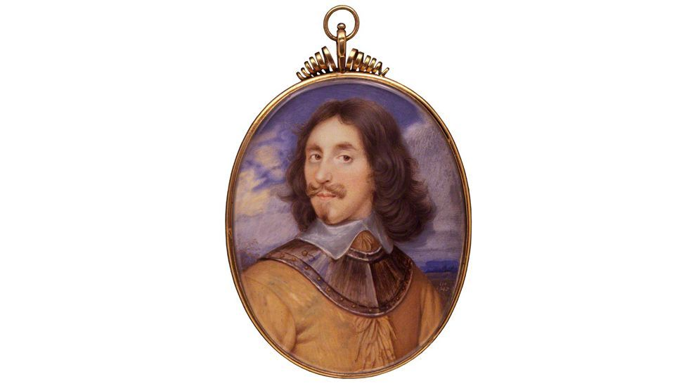 The extravagantly moustachioed Baron Arthur Capel was executed alongside King Charles I of England (National Portrait Gallery)