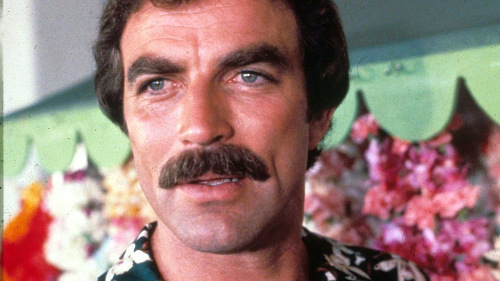 Tom Selleck sported one of the most memorable moustaches of the 1980s in the television series Magnum, PI (Rex Features)
