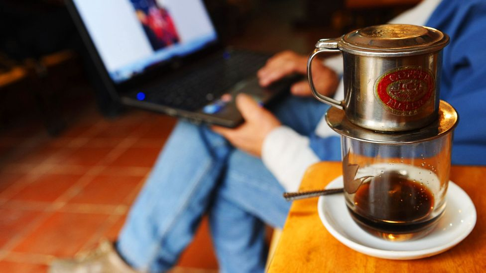 More independent workers use cafes as their office. Owners might balk. (Getty Images)