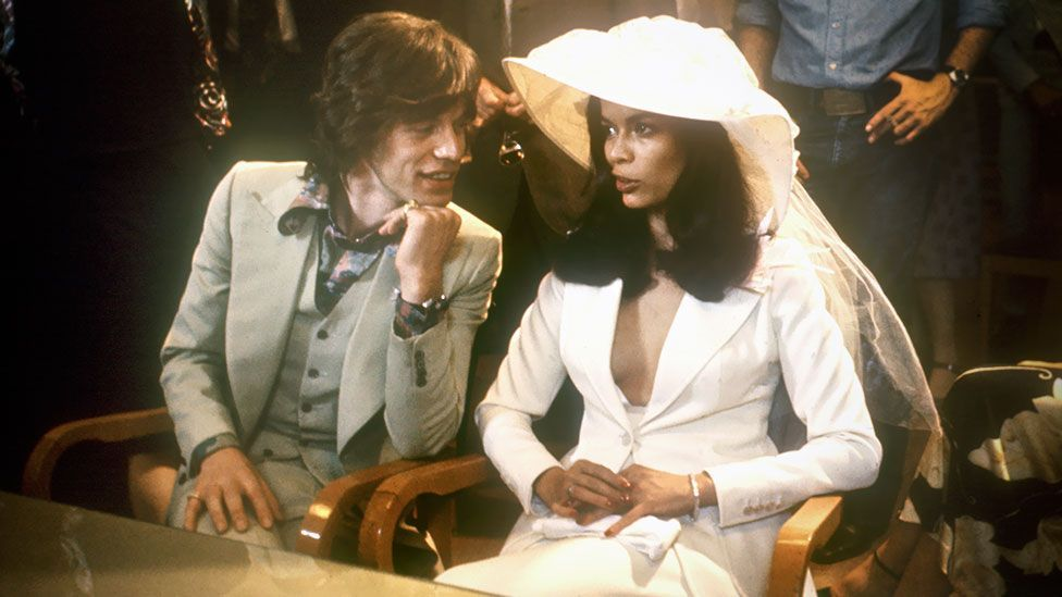 Mick Jagger and Bianca Perez Morera de Macias marry in St Tropez (AFP/AFP/Getty Images)