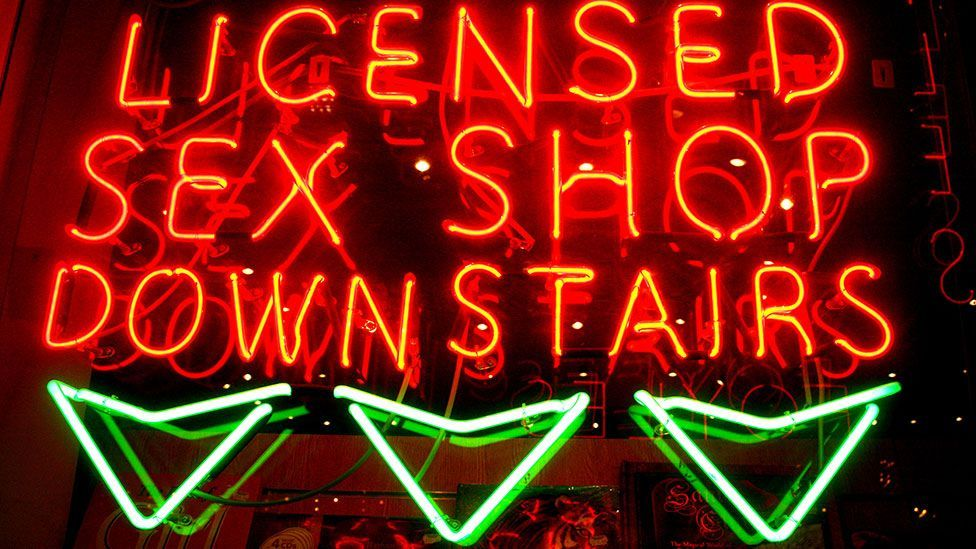 Neon signs became associated with cities' rundown areas (Jeffrey Blackler/Alamy)
